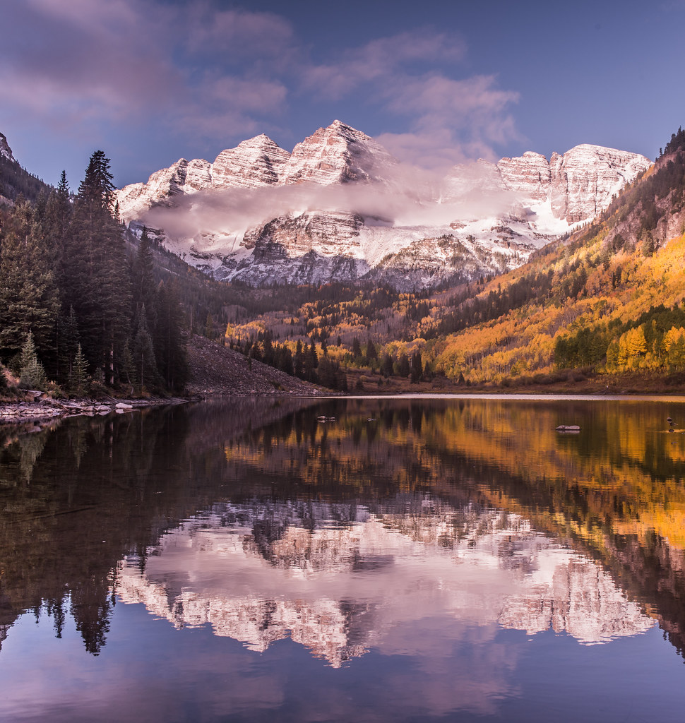 Maroon Bells, Colorado | www facebook com/wilsonaxpe | Flickr