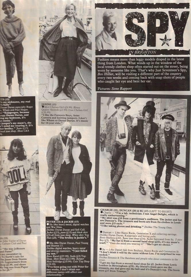 Just Seventeen, October 13, 1983 - p 05 | Like Punk Never Ha
