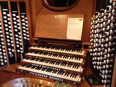 Royal Albert Hall organ console
