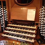 Royal Albert Hall organ console