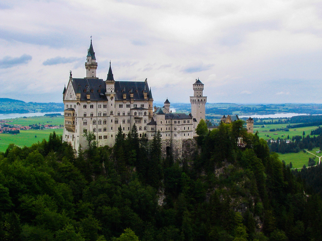Schloss Neuschwanstein This Castle Inspired The Walt Dis
