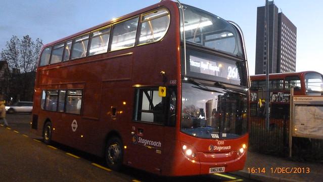 P1180645 10188 SN63 NBJ at Lewisham Station Station Road Lewisham London