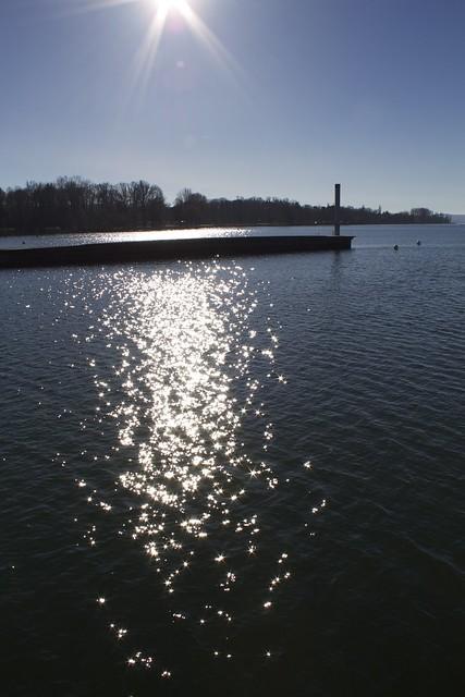 shipping pier Biel/Bienne