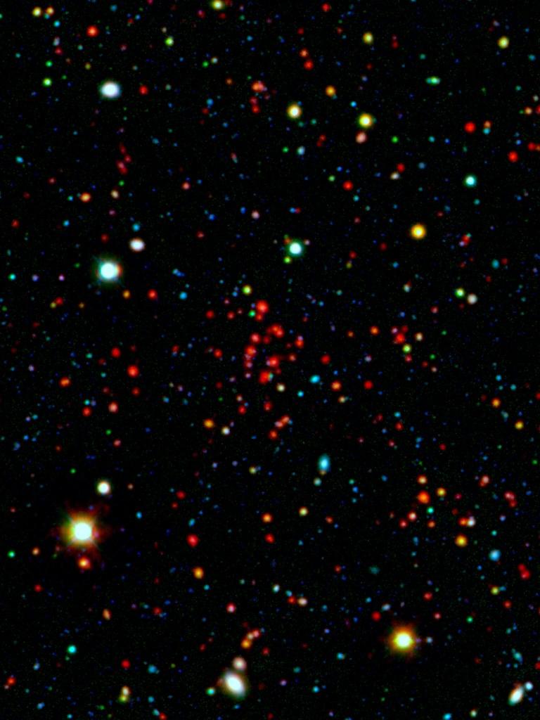 Iscs j1434 7 3519 wallpaper spitzer space telescope - Spitzer space telescope wallpaper ...