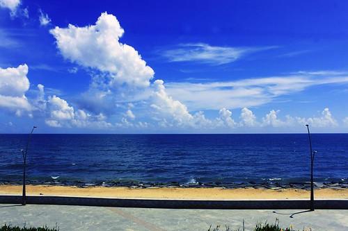 india beach landscape 75300mm pondicherry kundapur indiabeach canoneos500d morningviewofbeach