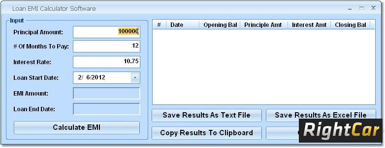 Emi Calculator For Car Loan Emi Calculator Is Used To Calc Flickr