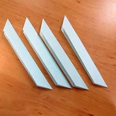 วิธีการพับกระดาษเป็นดอกบัวแบบแยกประกอบส่วน 013