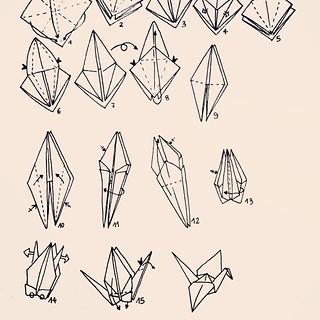 how to make a paper crane (tutorial) origami crane - YouTube | 320x320