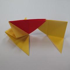 วิธีการพับกระดาษเป็นดาวหกแฉกแบบโมดูล่า 013