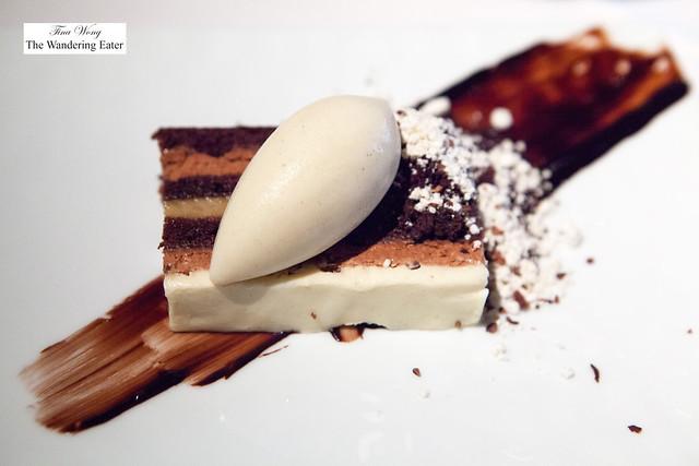 Chocolate, Devil's Food Cake, Black Cardamom, Rum and Banana Ice Cream