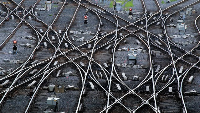 Complex Track Work: Toronto Union Station West Leads