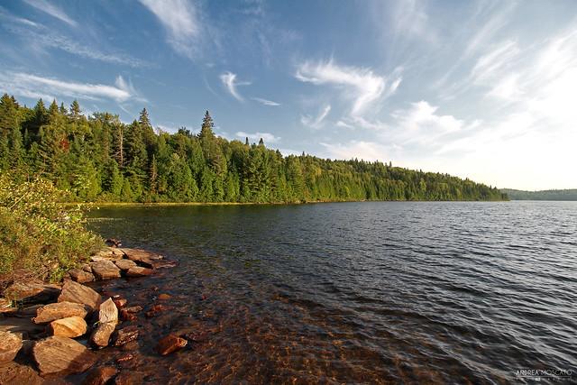 Lac Caribou - La Mauricie National Park (Québec, Canada)