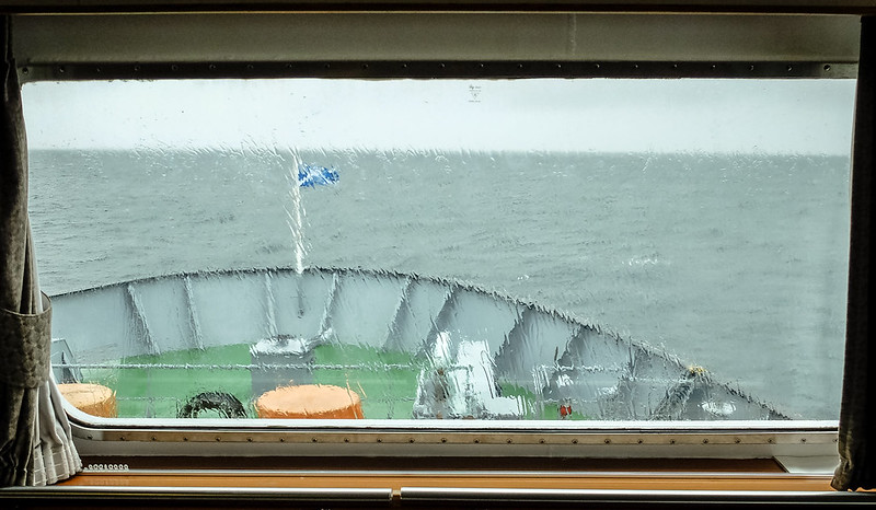 On the ferry to Lewis