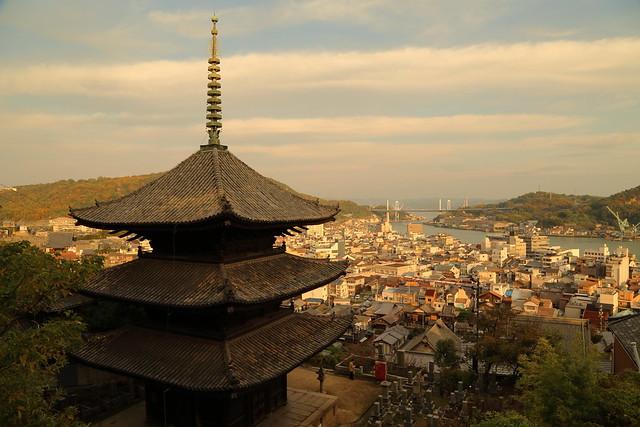 Pagoda at afternoon