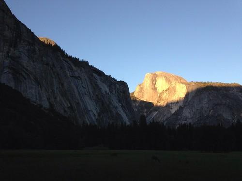 Half Dome at Sunset - Yosemite