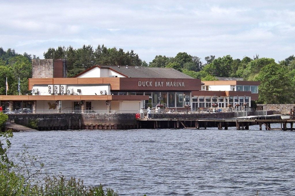 Duck Bay Marina >> Duck Bay Marina Duck Bay Marina On Loch Lomond Mark Harkin Flickr