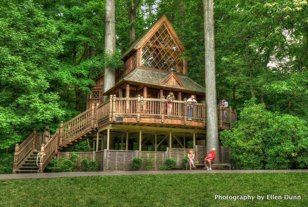 Treehouse Longwood Gardens Ellen Dunn Photography Flickr