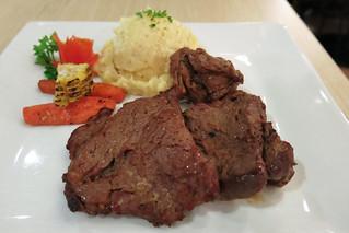 Tenderloin steak at Brickfire   by karlaredor