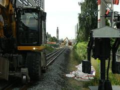 Werkzaamheden station Enschede 3 augustus 2013