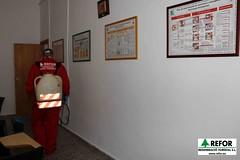 COLABORACIÓN DE REGENERACIO FORESTAL S.L. EN LA DESINSECTACIÓN, DESINFECCIÓN Y DESRATIZACION DE LA ASAMBLEA DE CRUZ ROJA ESPAÑOLA EN L'ALCUDIA - TRATAMIENTO CON BIOCIDAS - RESPONSABILIDAD SOCIAL CORPORATIVA DE REFOR S.L. F18
