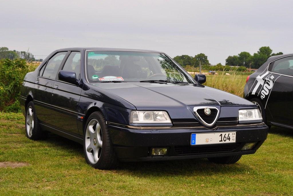 Alfa Romeo 164 >> Alfa Romeo 164 Super V6 Pininfarina Alfa Club Berlin 11 Ju
