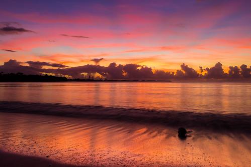sunrise de soleil guadeloupe lever gwada