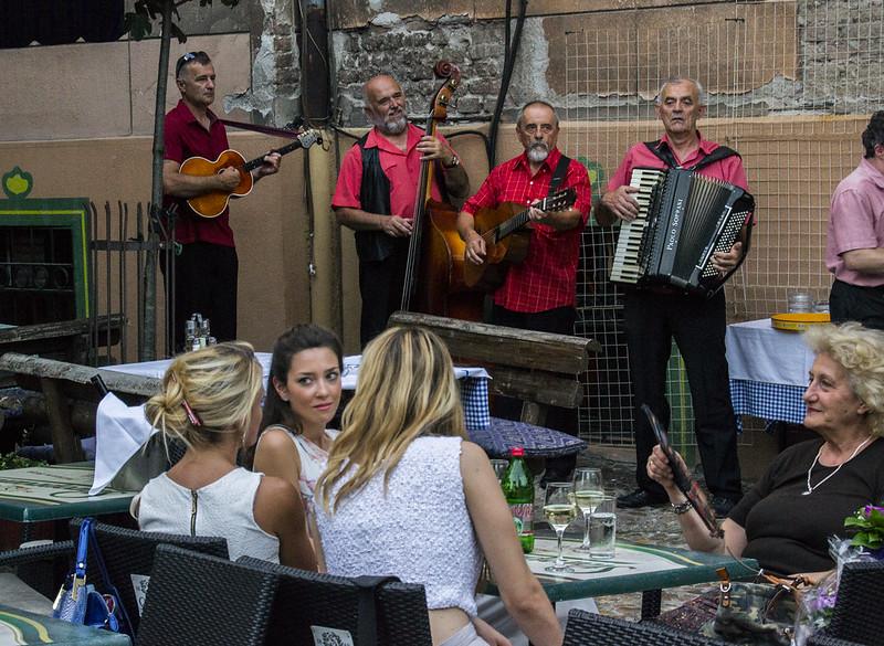 Belgrade musicians