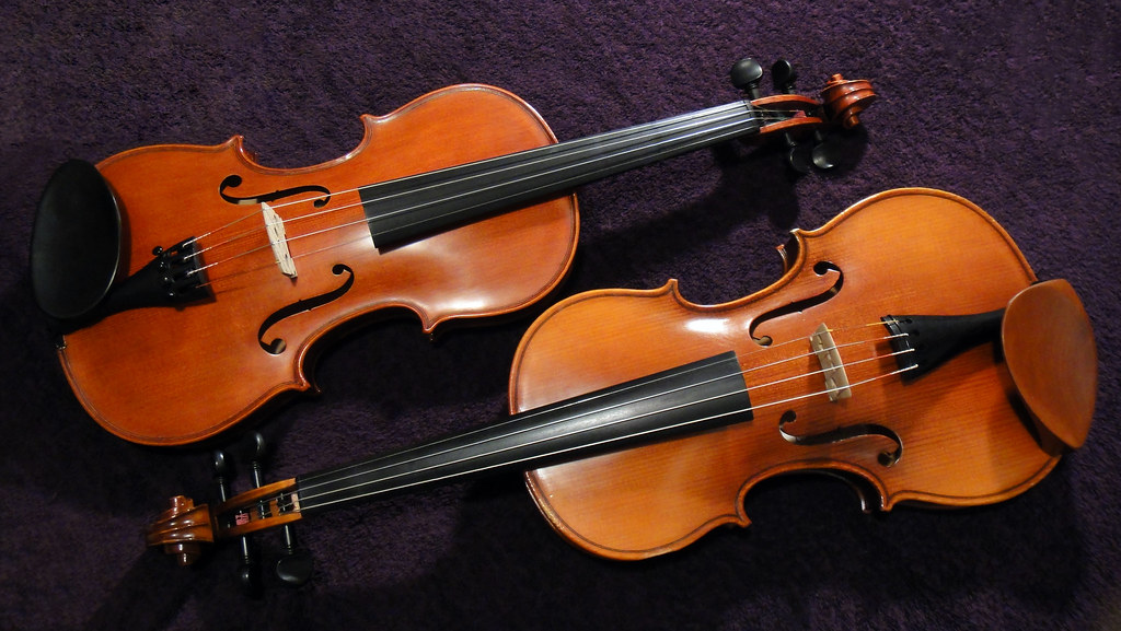 Violins | My babies! | Fox Mitchell | Flickr