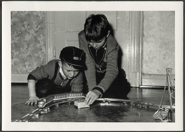 Archiv K132 Modelleisenbahn, Weihnachten 1957