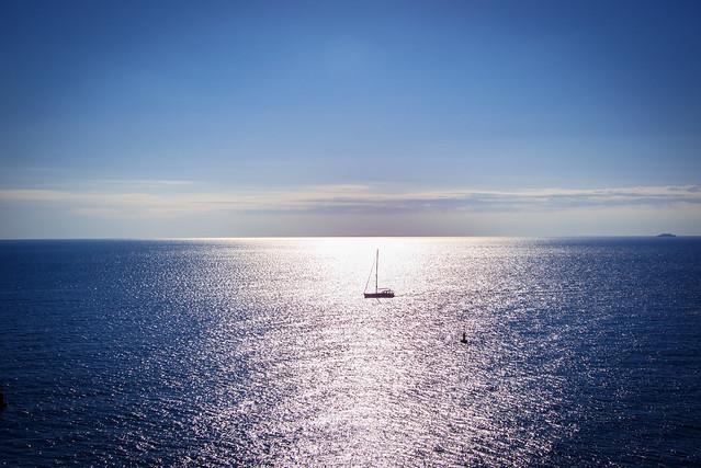 1st Januar shipping on Ligurian Sea - Monaco