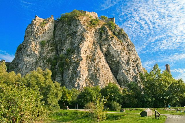 Devin Castle Cliff, Bratislava, Slovakia