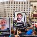 17_12_2013 Protesta de los trabajadores de Telefónica en la Ciutat de la Justícia