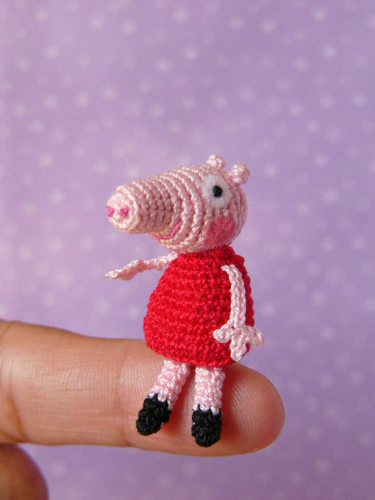 Free Crochet Pattern Peppa Pig Find out... - Free-Crochet-Patterns ... | 1024x768