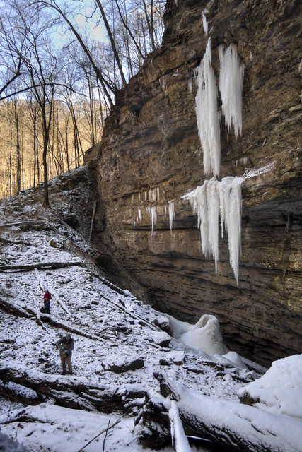 Unnamed waterfall, Putnam County, Tennessee
