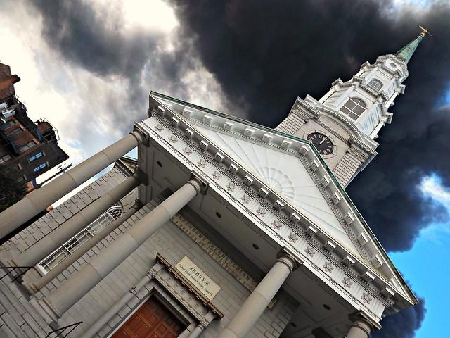 Black Smoke/White Church