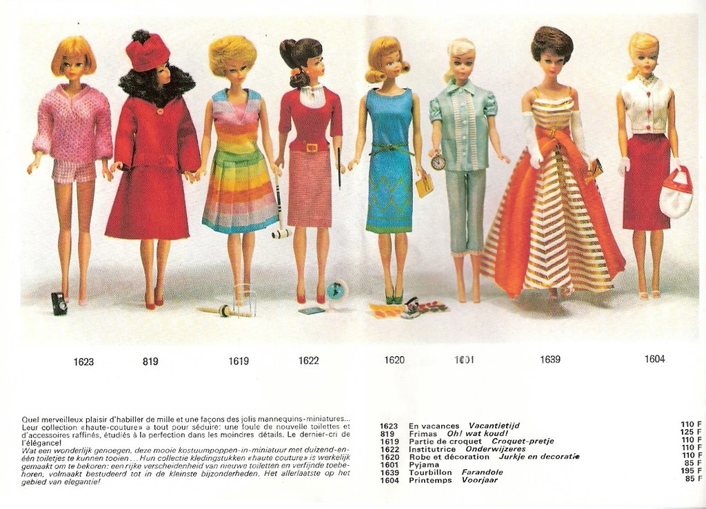 Mattel Barbie Catalog 1965 (3) | I found these photos in a H… | Flickr
