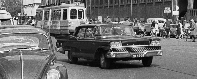 1959 Ford Custom 300 4-deurs Sedan
