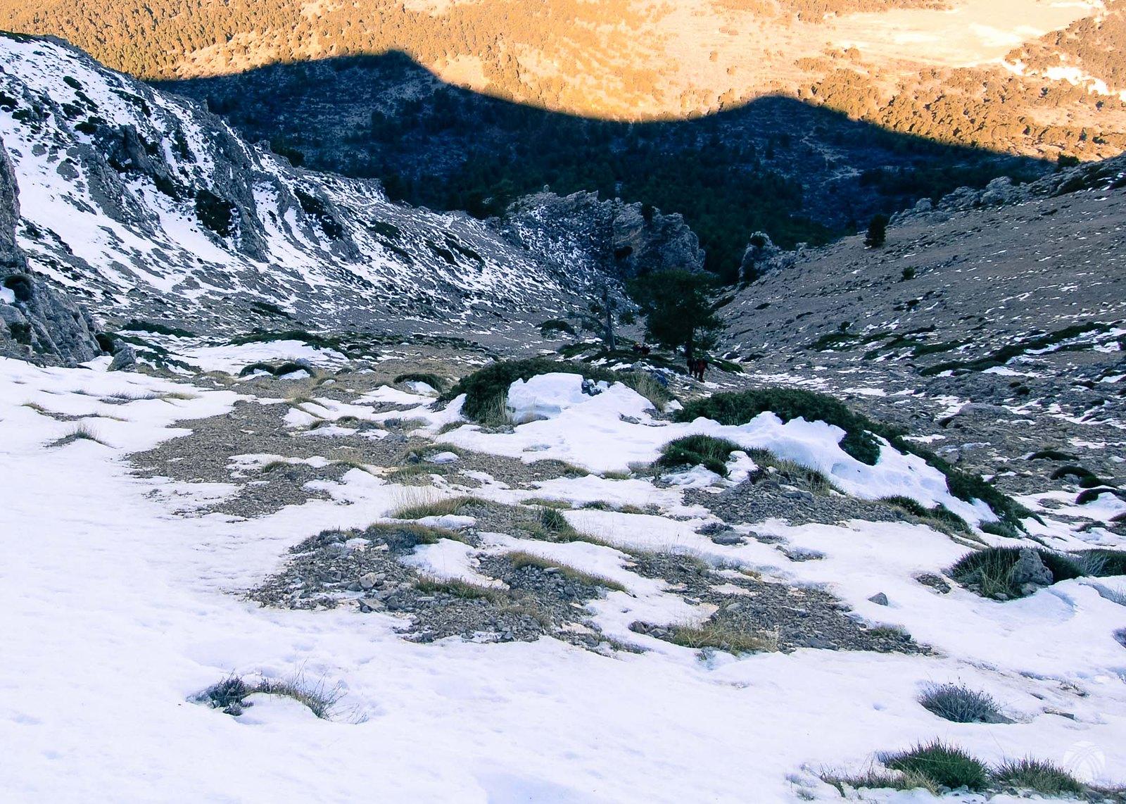 La sombra de la montaña