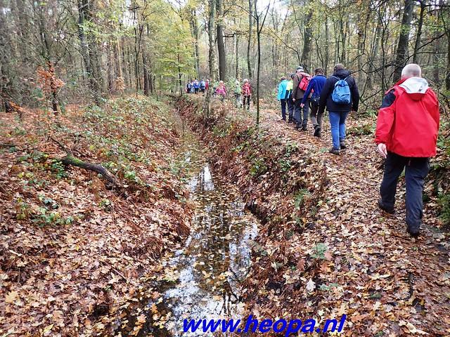 2016-11-16    3e Rondje-WolfHeze   25 Km  (125)
