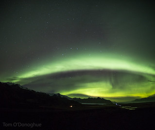 Road side Aurora Panorama | by Astro Tom
