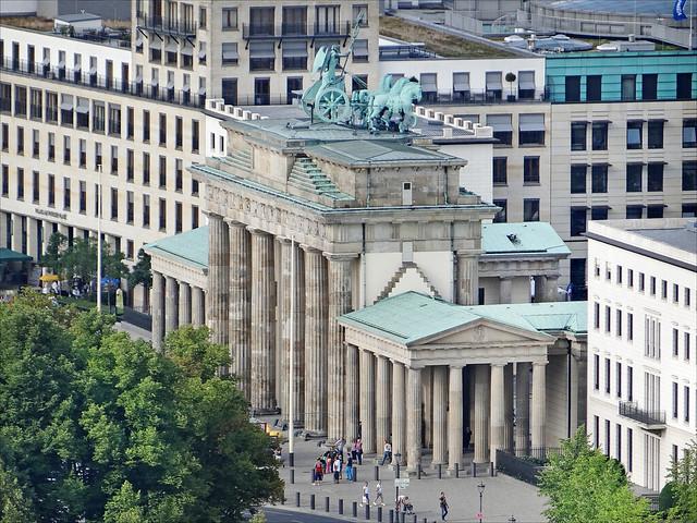 La Porte de Brandebourg (Berlin)