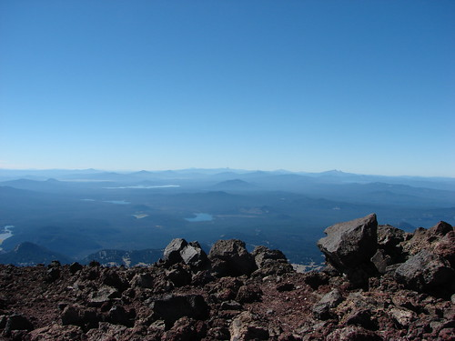 View from the South Sister