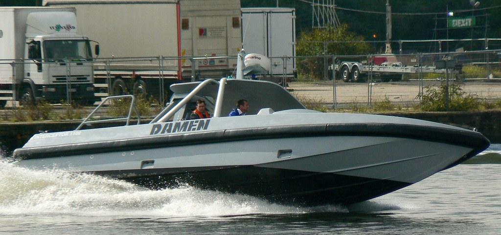 Damen Interceptor 1102 (2) @ Excel 12-09-13