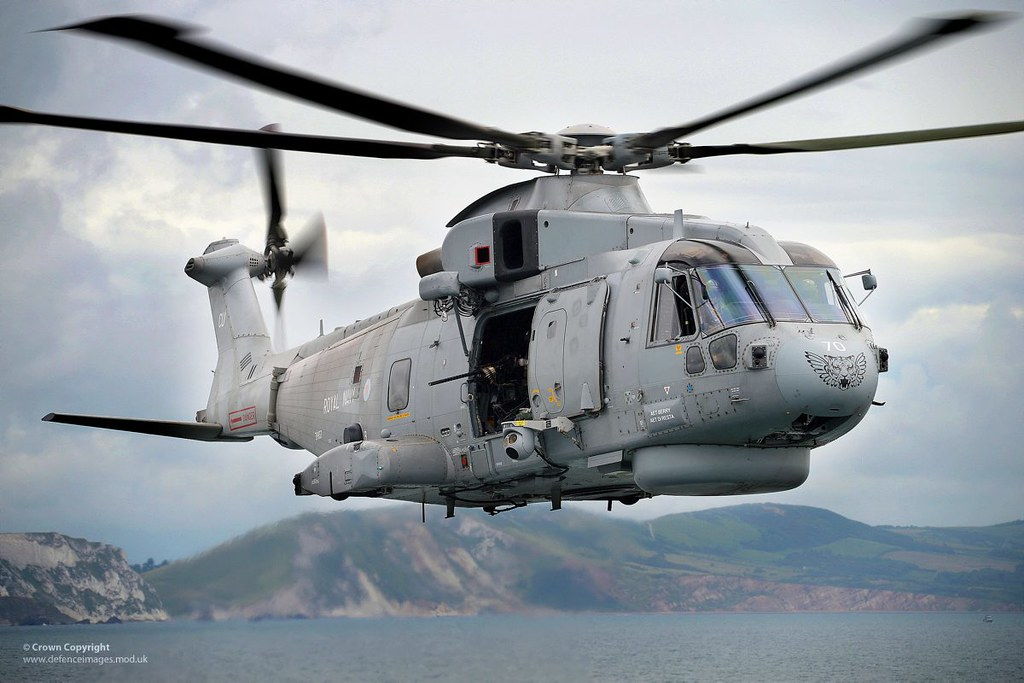 Royal Navy Merlin Helicopter