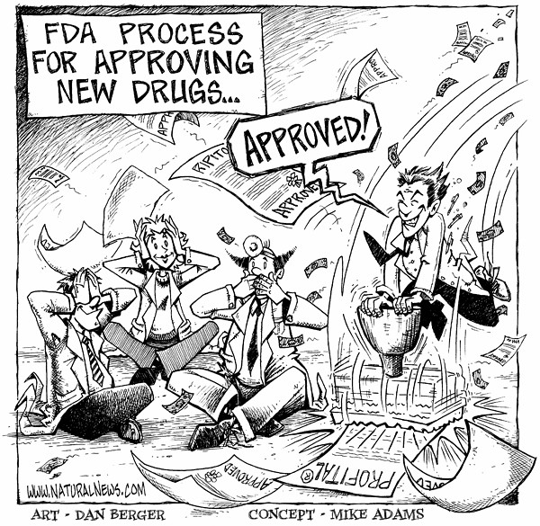 The FDA Drug Approval Process | This comic was based on the