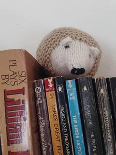 Hedgehog is a Dramaturg | by iwriteplays