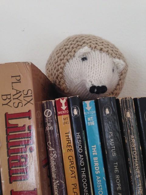 Hedgehog is a Dramaturg