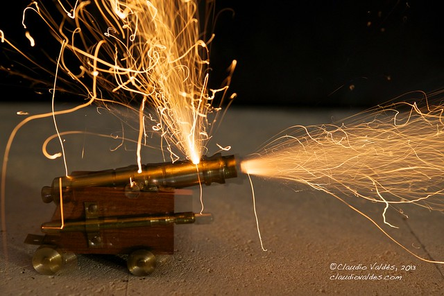 3rd Shot of the miniature canon