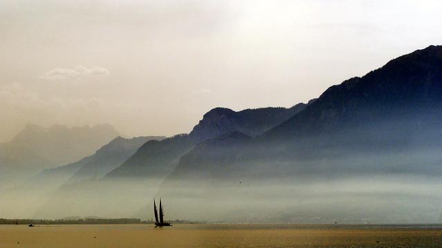 Hazy Léman