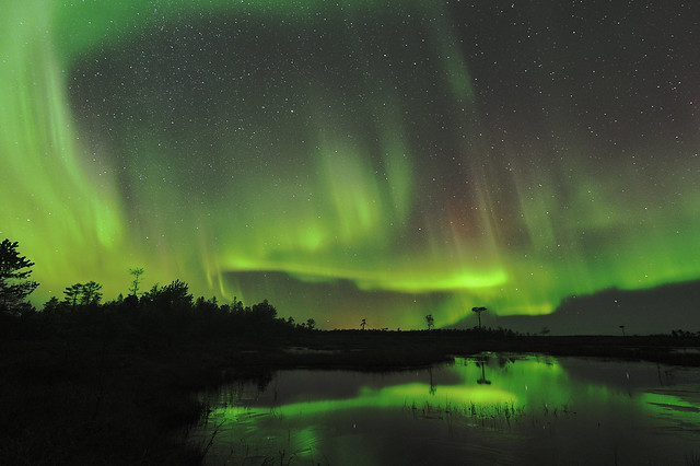 Aurora Borealis - Northern Lights in Finland